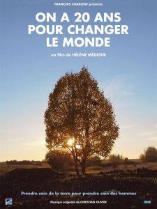 """Apéro + Film """"On a 20 ans pour changer le monde"""" @ La Nef, à Wissembourg"""
